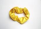 Schrunchie yellow wetlook